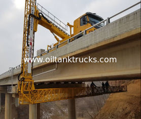 Chiny 8x4 Bridge Inspection Vehicle Euro III/IV 22M With Arm And FAW Chassis dostawca