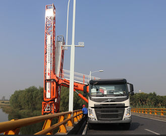 Chiny Volvo Euro VI 450HP Under Bridge Inspection Truck, Bridge Inspection Equipment dostawca