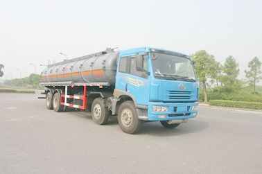 Chiny 24.5 cbm Chemical Liquid Tanker Truck 6x4 For logistic Industries dystrybutor