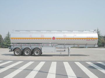Chiny 3x12T BPW Fuel Oil Tank Trailer dystrybutor