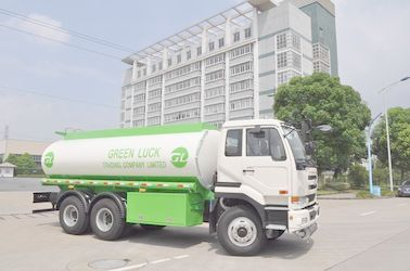 Chiny 22500L Dongfeng Nissan Diesel 6x4 320HP Aluminum Alloy Fuel Oil Delivery Truck dystrybutor